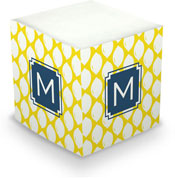 Dabney Lee Personalized Sticky Note Cubes - Meyer