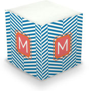 Dabney Lee Personalized Sticky Note Cubes - Perspective