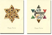 Purim Greeting Cards by Indelible Ink