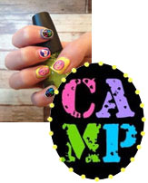 Camp Nail Stickers
