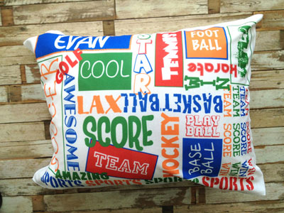 A Personalized Graffiti Pillowcase - Boy