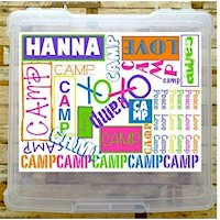 Camp Stationery Boxes & Storage Boxes