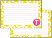 Dabney Lee Personalized Recipe Cards - Hole Punch