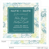 Take Note Designs Save The Date Cards - Floral Bunch Modern