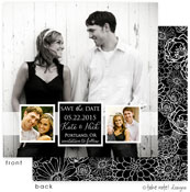 Take Note Designs Save The Date Cards - Band of Photos
