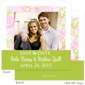Take Note Designs Save The Date Cards - Blush of Color