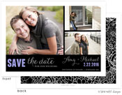 Take Note Designs Save The Date Cards - Custom Fit 3 Photo Block