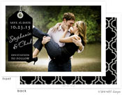 Take Note Designs Save The Date Cards - Classic Tag