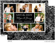 Take Note Designs Save The Date Cards - Floral Framed In