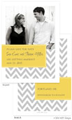 Take Note Designs Save The Date Cards - Designer with Yellow Tag