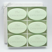 Personalized Soap - Six Bars - Green Tea & Bergamot Inspire