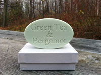 Personalized Soap - Single Bar - Green Tea & Bergamot