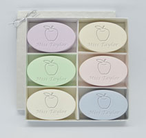 Personalized Soap Sets - Apple For Teacher - Spa Inspire