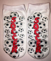 Just Gifts by Robin - Socks (Soccer)