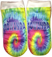 Just Gifts by Robin - Socks (Tye Dye with Personalization)