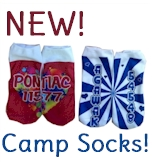 HOT for camp: custom SOCKS!