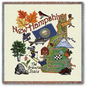 State Square Throws - New Hampshire