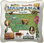 State Pillows - Montana