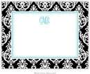 Boatman Geller - Create-Your-Own Birth Announcements/Invitations (Madison Damask)