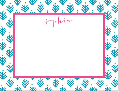 Boatman Geller - Create-Your-Own Personalized Stationery (Sprig - Sm. Flat Card)