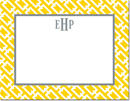 Boatman Geller - Create-Your-Own Personalized Stationery (Chain Link - Sm. Flat Card)