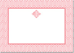 Boatman Geller - Create-Your-Own Personalized Stationery (Blaine - Lg. Flat Card)