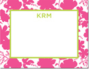 Boatman Geller - Create-Your-Own Personalized Stationery (Eliza Floral - Sm. Flat Card)