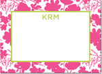 Boatman Geller - Create-Your-Own Personalized Stationery (Eliza Floral - Lg. Flat Card)