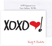 Boatman Geller Stationery/Thank You Notes - XOXO