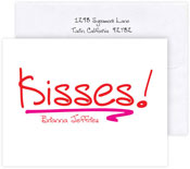 Boatman Geller Stationery/Thank You Notes - Kisses