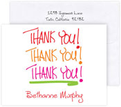 Boatman Geller Stationery/Thank You Notes - Thank You Capitals