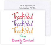 Boatman Geller Stationery/Thank You Notes - Thank You x 3