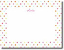 Boatman Geller Stationery - Pink Multi Confetti