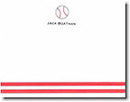 Boatman Geller Stationery - Baseball