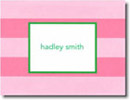 Boatman Geller Stationery - Pink Rugby