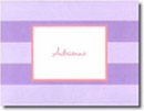 Boatman Geller Stationery - Lavender Rugby