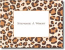 Boatman Geller Stationery - Brown Leopard