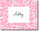 Boatman Geller Stationery - Pink Leopard