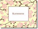 Boatman Geller Stationery - Pink Blossom
