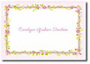 Boatman Geller Stationery - Floral Border