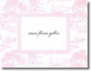 Boatman Geller Stationery - Pink Toile
