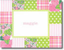 Boatman Geller Stationery - Pink Patchwork