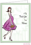 Bonnie Marcus Personalized Stationery/Thank You Notes - Baby Shower Soiree