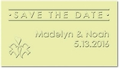 Save The Date Calling Cards