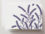 Crane Boxed Stationery Sets - Letterpress Lavender Note