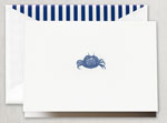 Crane Boxed Stationery Sets - Engraved Crab Note