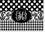 Devora Designs - Stationery (Black and White Collage) - From More Than Paper