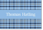 Devora Designs - Stationery (Carolina Plaid) - From More Than Paper