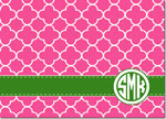 Devora Designs - Stationery (Clover Raspaberry) - From More Than Paper