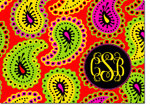 Devora Designs - Stationery (Groovy Paisley) - From More Than Paper